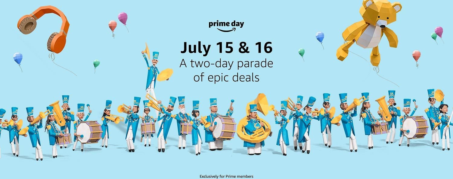 Up to 70% Off Prime Day Deals + Extra $5 Off $50+ Orders