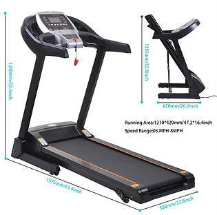 98% Off .New Indoor Gym Home 2.25HP Folding Treadmill Commercial Health Fitness Running Machine Bluetooth APP Control
