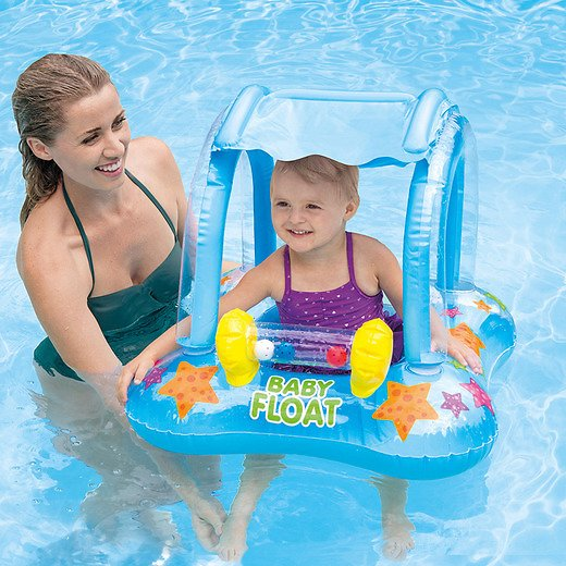 Intex Kiddie Float with Sun Shade