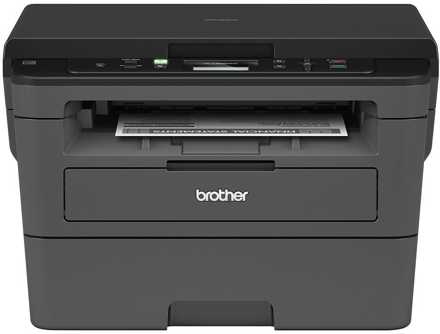 Brother Wireless Monochrome Laser All In One Printer Scanner Copier HL L2390DW - Office Depot