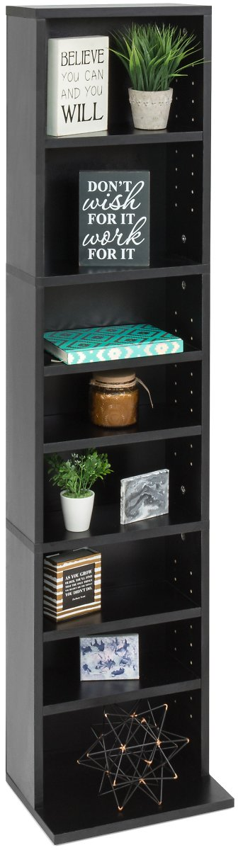 Best Choice Products 8-Tier Media Storage Tower (Ships Free)