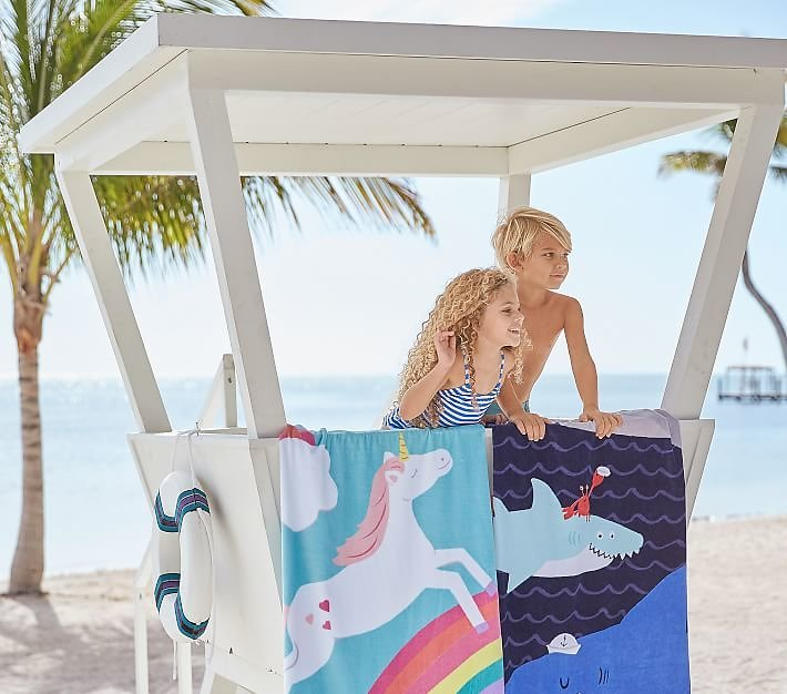 Pottery Barn Kids Towels from $3.97!