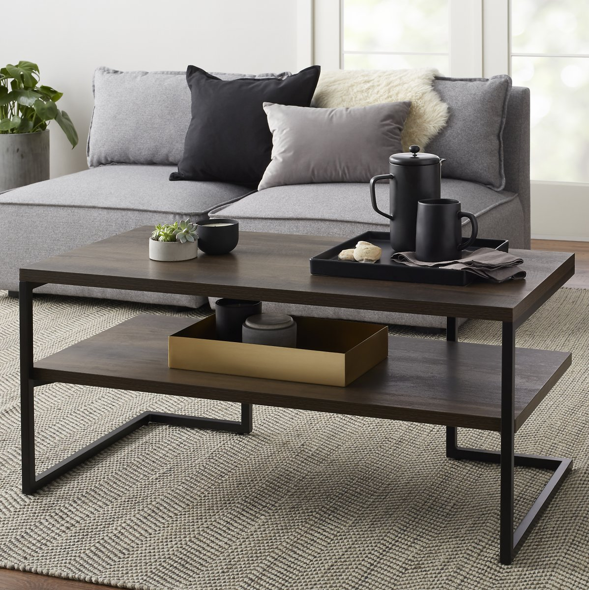 (Ships Free) Better Homes & Gardens Rhodes Coffee Table