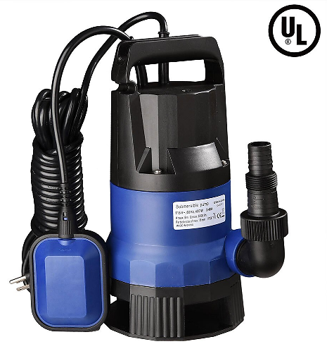 (Ships Free) YescomUSA Swimming Pool Submersible Dirty Clean Water Pump 1/2hp