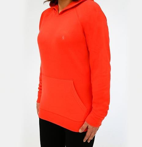 IZOD Women's Fitted Fleece Pullover Hoodie (2 Colors)