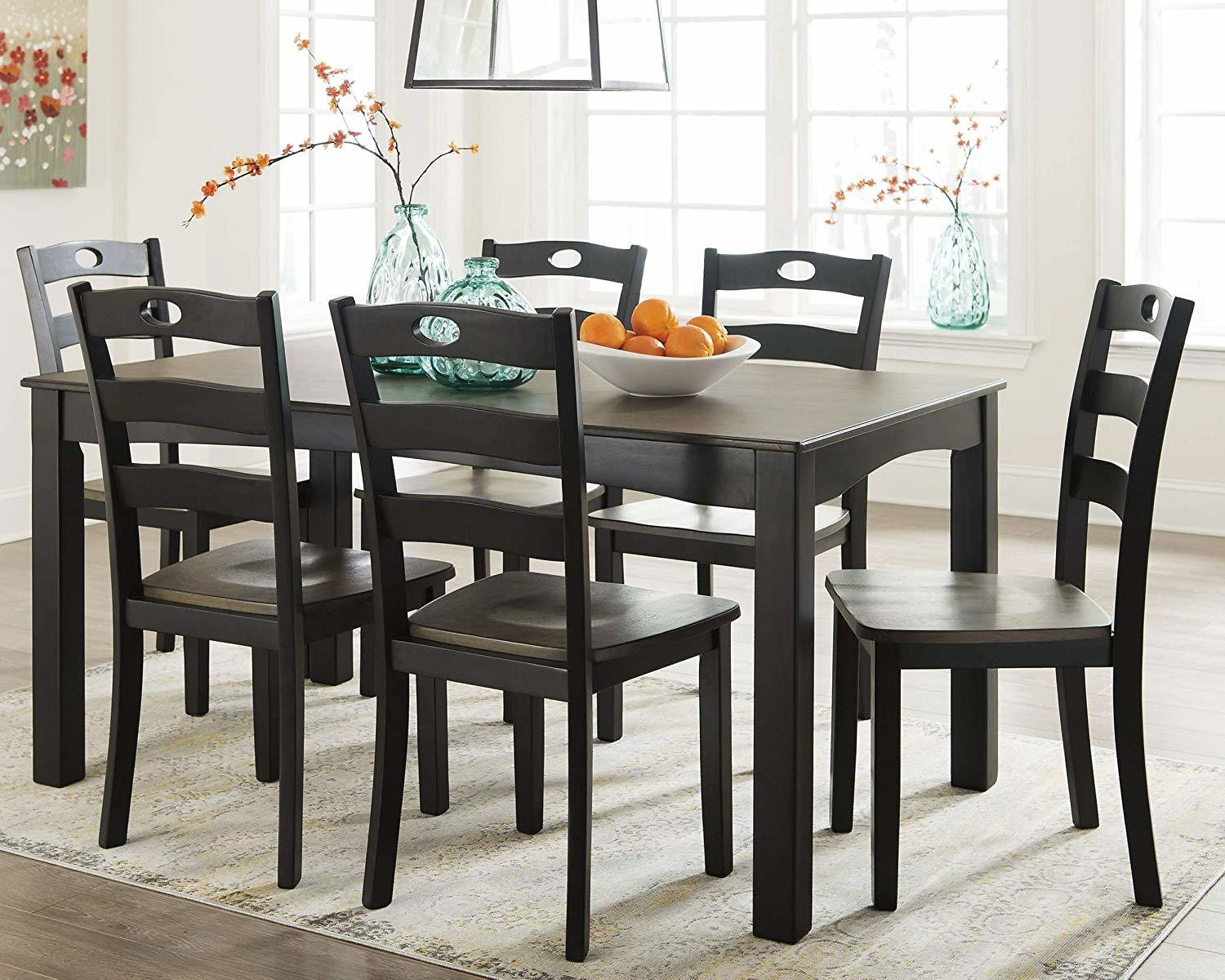 (Ships Free) Signature Design by Ashley D338-425 Table and 7 Chairs
