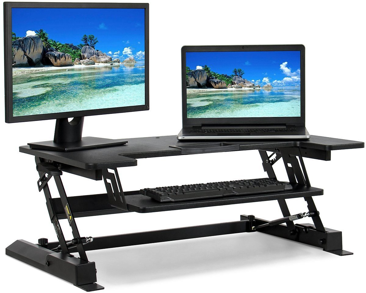 36-In. Height Adjustable Standing Desk (Ships Free)