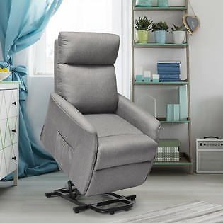 Costway Costway Electric Power Lift Massage Chair Recliner Sofa Fabric Padded Seat W/Remote Home