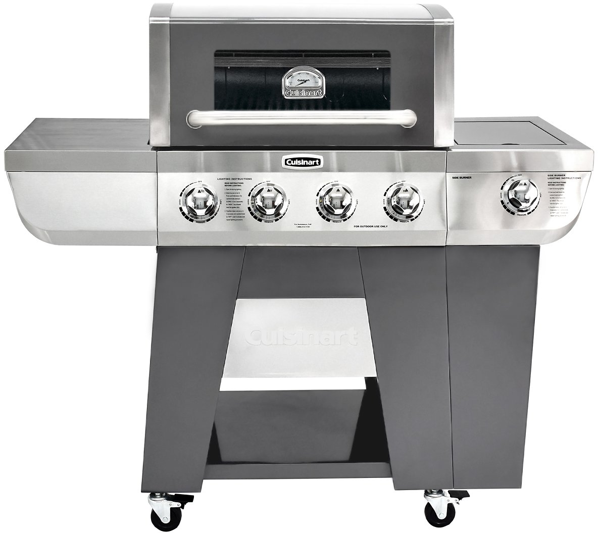 (Ships Free) Cuisinart Deluxe Four-Burner Gas Grill