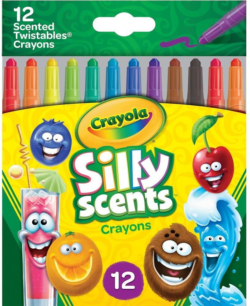 12-Count Crayola Silly Scents Twistables Crayons (Price Drop)