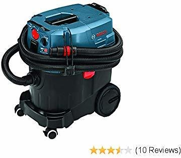 Bosch 9 Gallon Dust Extractor W/Auto Clean & HEPA Filter