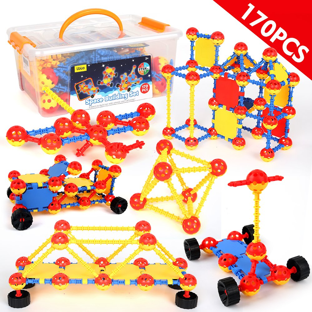 170 Piece STEM Building Toy Sets for Boys and Girls
