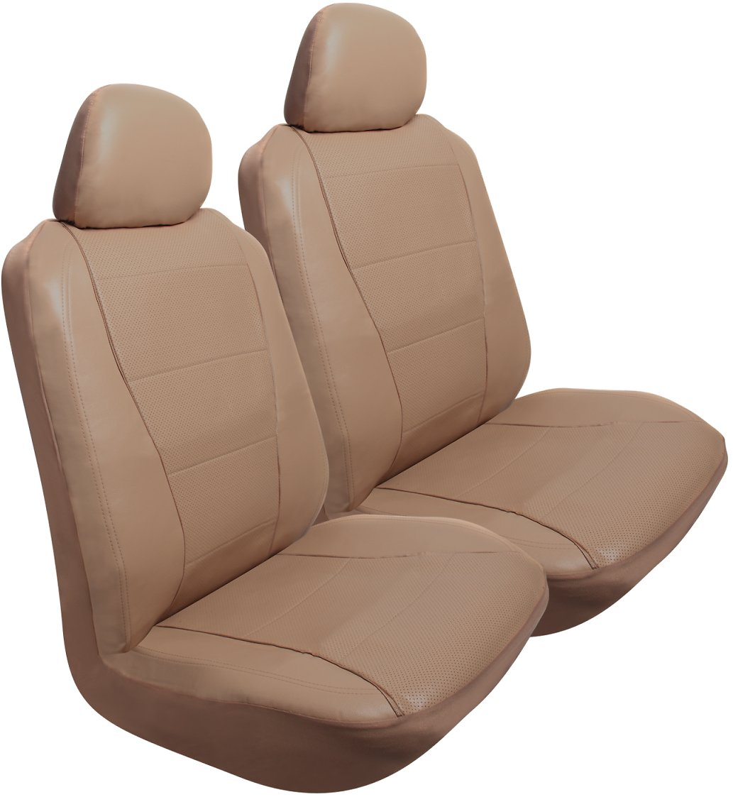 Pilot Automotive Pilot Automotive 2 Pk Perforated Leather-like Seat Cover