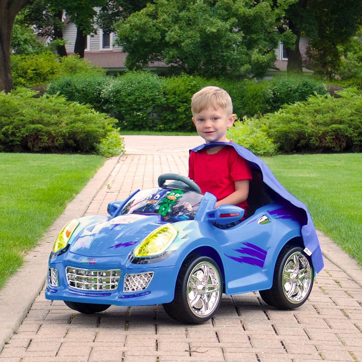 Rollplay PJ Masks Cat Car 6 Volt Battery Powered Ride-On Vehicle