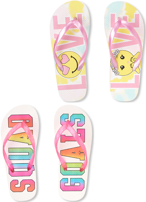 Girl Clearance Youth Flip Flops + Free Shipping