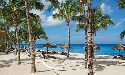 ✈ 3- or 5-Night All-Inclusive Secrets Aura Cozumel. Price Is Per Person, Based On Two Guests Per Room.
