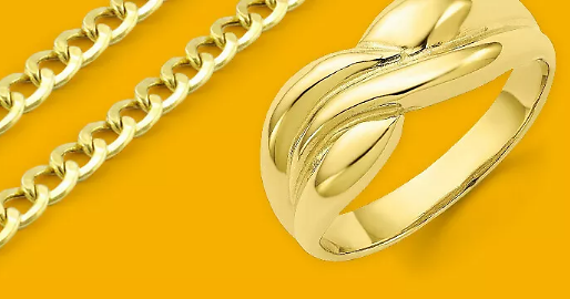 Up to 70% Off Solid Gold Chains, Rings, and More + Free Shipping!
