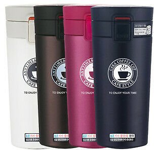 Stainless Steel Thermal Coffee Mug Travel Mug Tea Coffee Vacuum Bottle Thermos