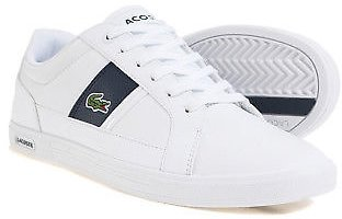 Lacoste EUROPALCR 3 Men's Sneakers Casual Shoes Sports White Navy 731SPM0097X96