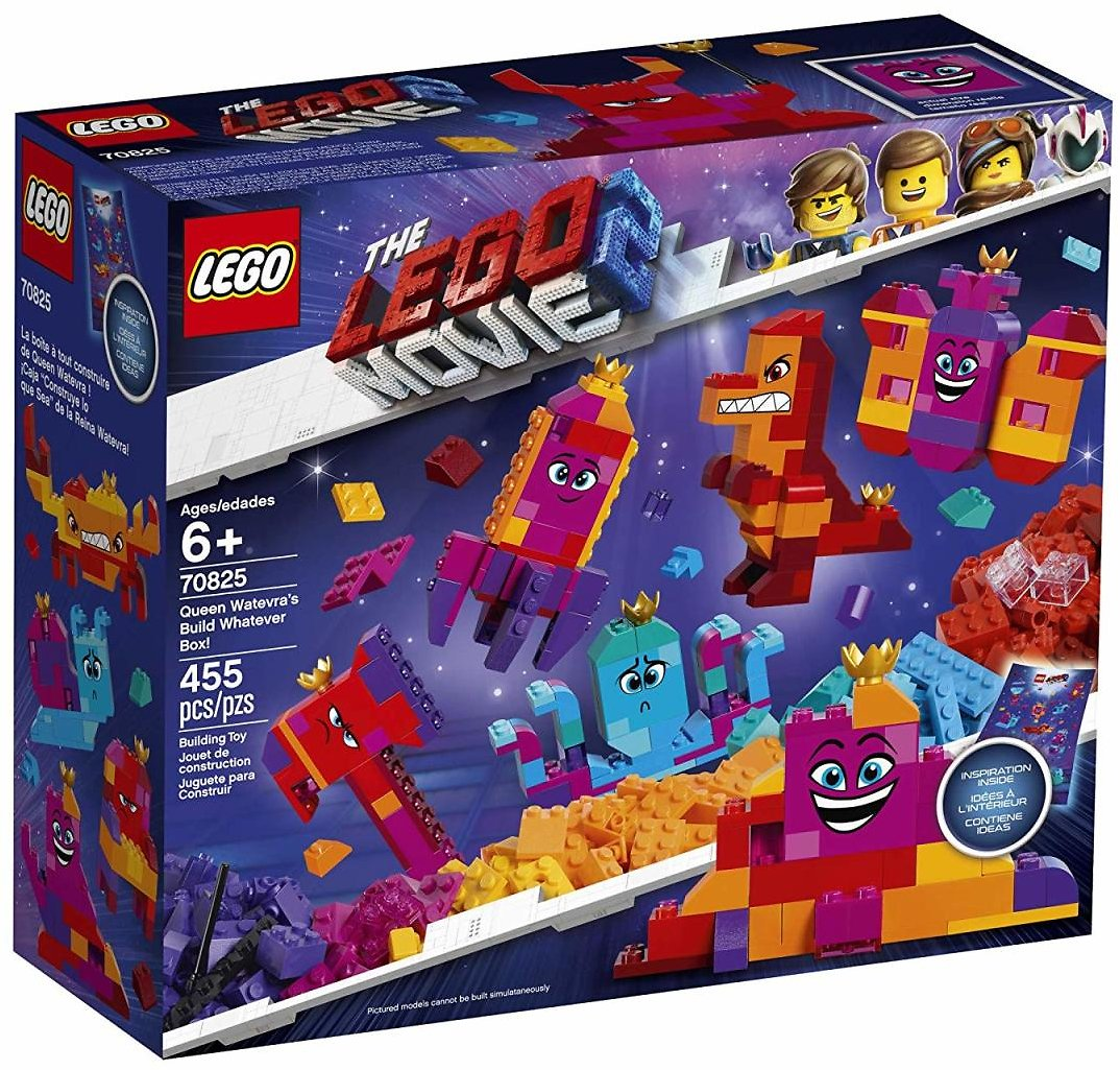 LEGO The LEGO Movie 2 Queen Watevra's Build Whatever Box