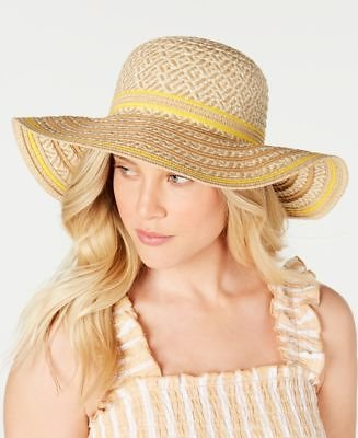 I.N.C. Striped Floppy Hat, Created for Macy's