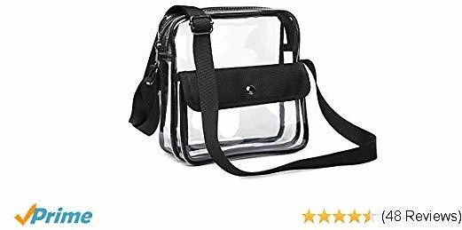50% Off Clear Purse, F-color Concert Stadium Approved Clear Bag