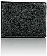 Tommy Hilfiger Men's Leather Wallet - Thin Sleek Casual Bifold with 6 Credit Card Pockets and Removable ID Window, Black Dore At Amazon Men's Clothing Store: Bifold Wallets