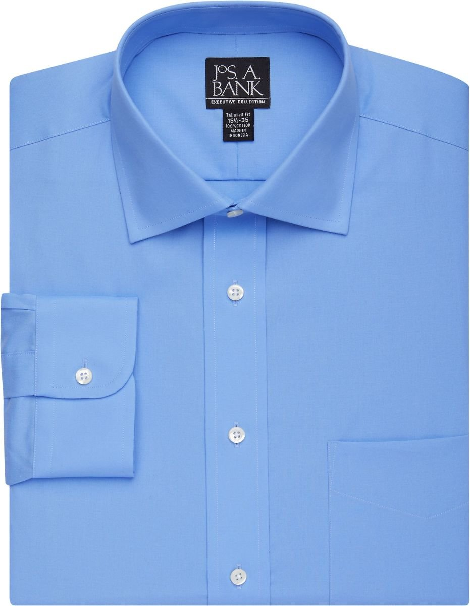 Executive Collection Tailored Fit Dress Shirt