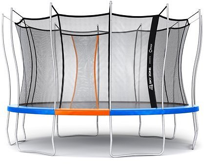 (Ships Free) Official Sky Zone x Vuly 14-Ft Trampoline Self-Closing Door
