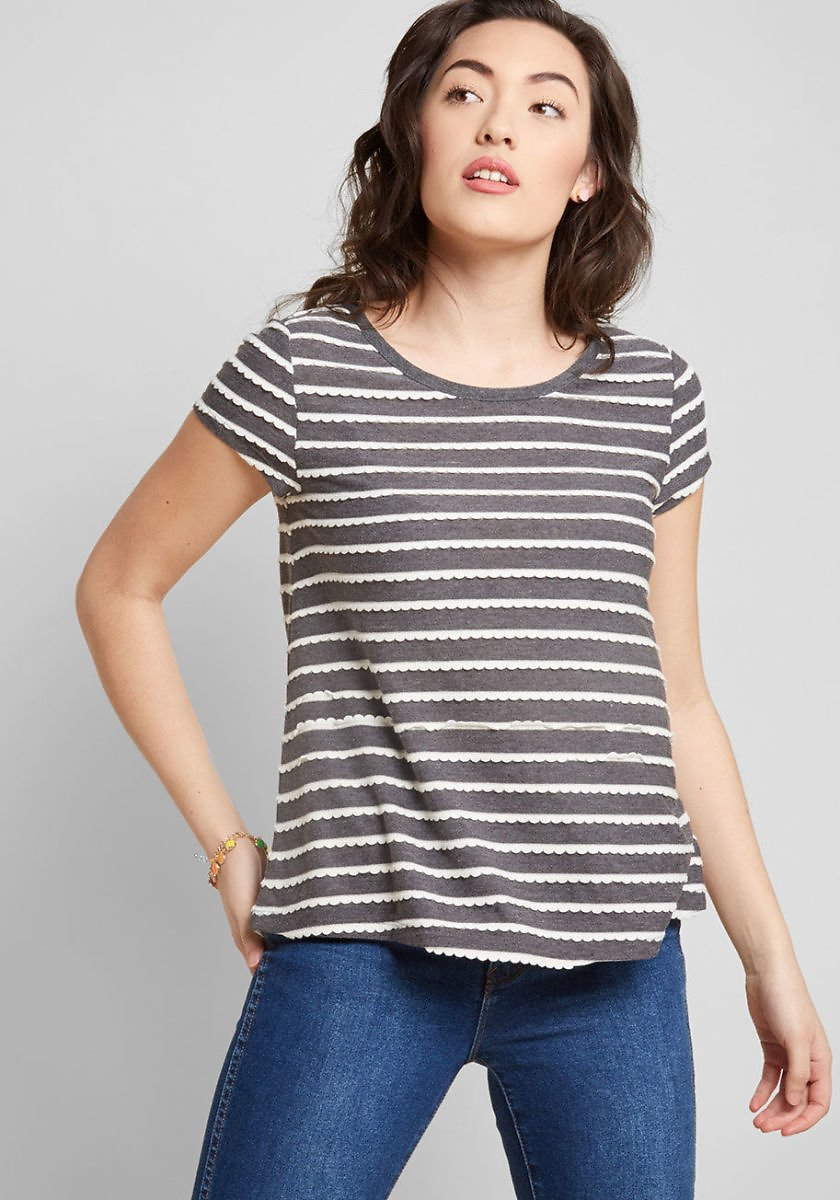 Playfully Functioning Knit Top