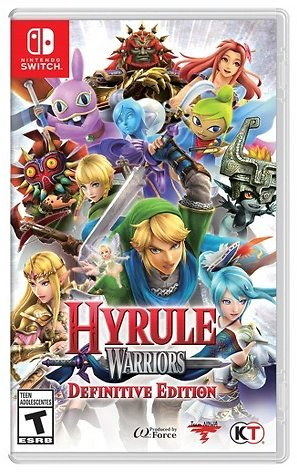 Hyrule Warriors for Nintendo Switch $40
