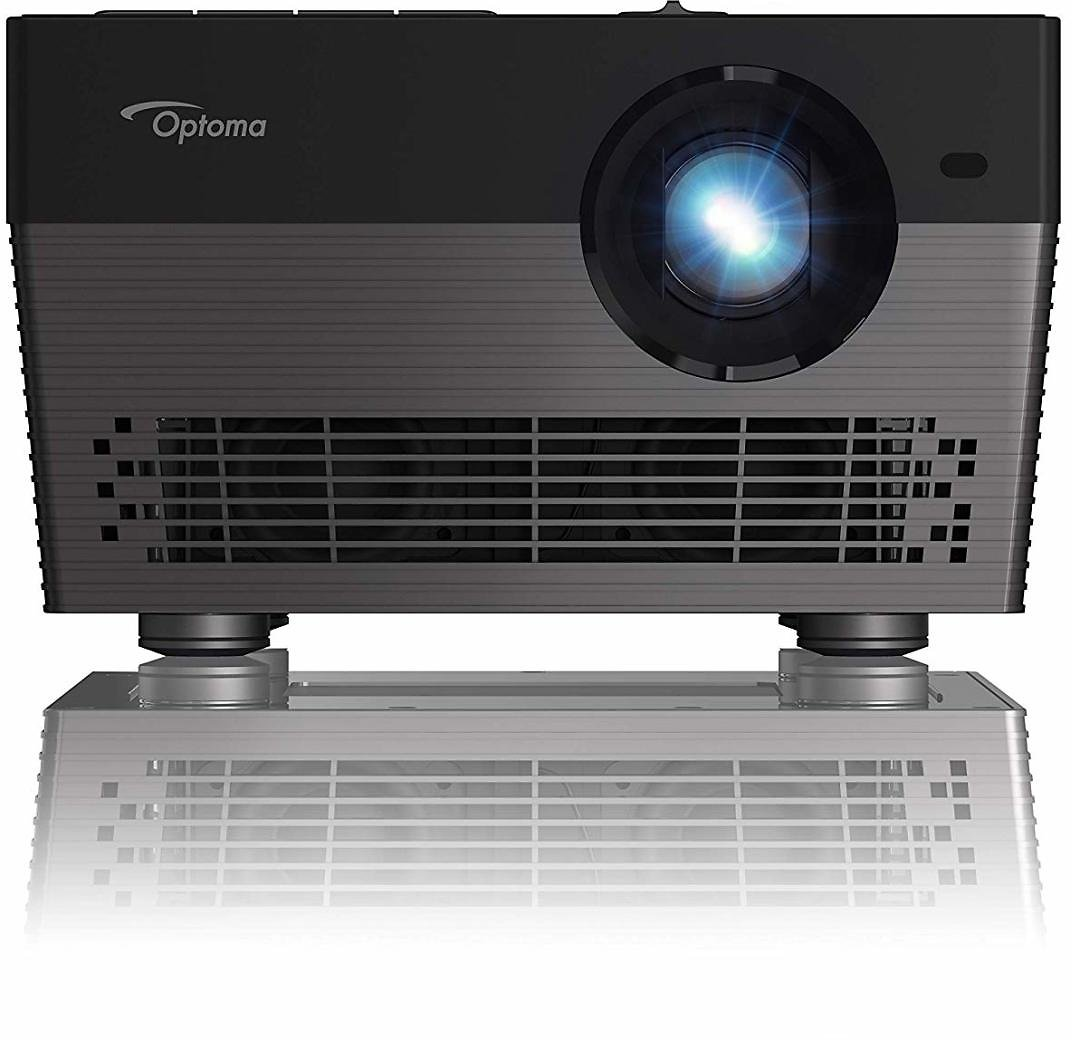 Optoma UHL55 4K LED Smart Projector with Built in Bluetooth Speaker