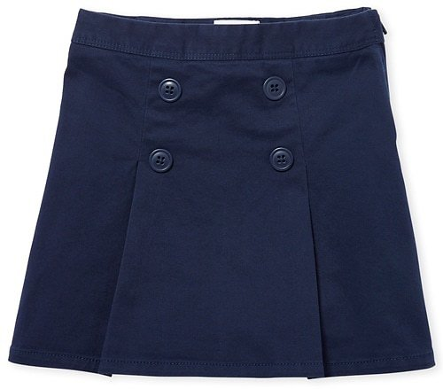 Girls Uniform Woven Button Skort - 3 Colors | The Children's Place