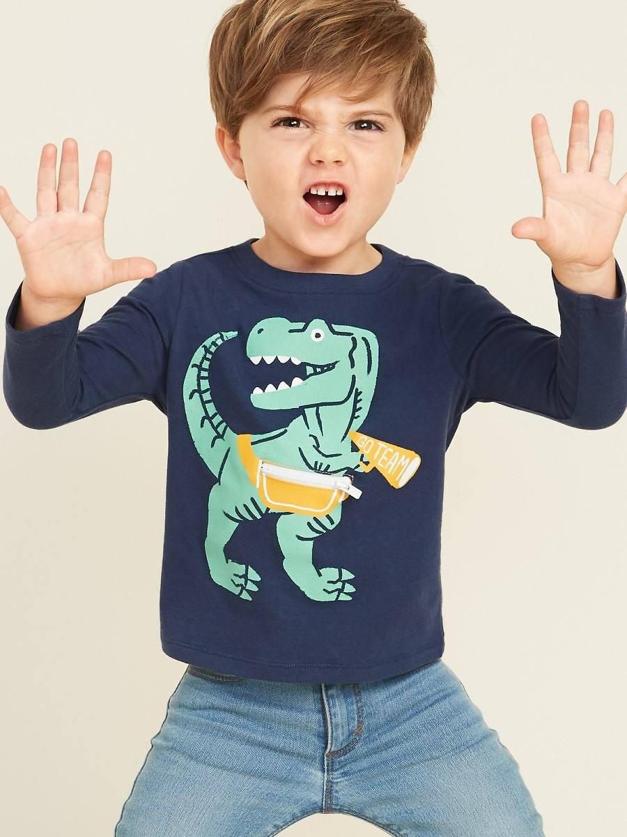 Graphic Critter Tee for Toddler Boys (4 Styles)