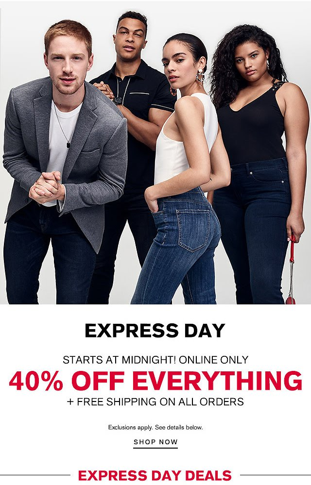 40% Off Everything + Free Shipping