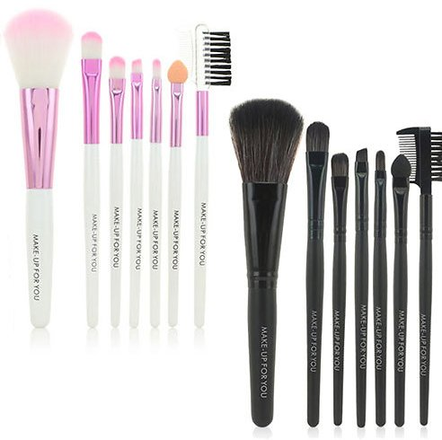 Alphabet Deal | Makeup Brush Set with Leather Case| Price : $9.99