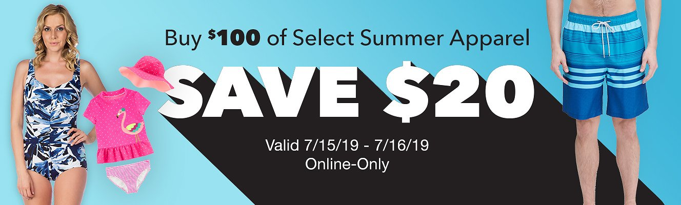 Save $20 Off On Select Summer Apparel | Costco