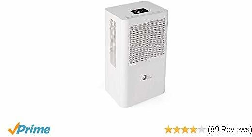 Portable Dehumidifier 68oz Per Day with 3L(6.4 Pints) Water Tank for Room Up To 323 Sq.ft(30m²)