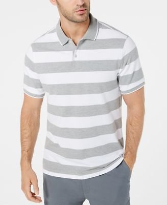 Men's Striped Polo, Created for Macy's