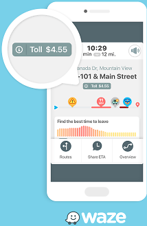 Waze Now Shows Road Toll Prices Along Your Driving Route – TechCrunch