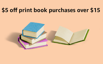$5 Off $15+ Print Book Purchase