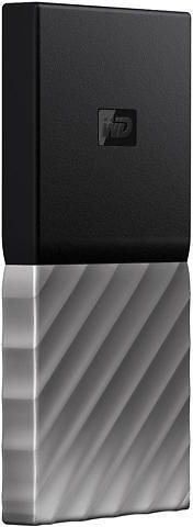 WD 512GB My Passport SSD Portable Storage - External Solid State Drive - USB 3.1 - WDBK3E5120PSL-WESN