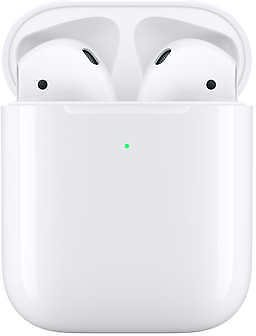 Apple AirPods Wireless Headphones with Wireless Charging Case - Latest Model
