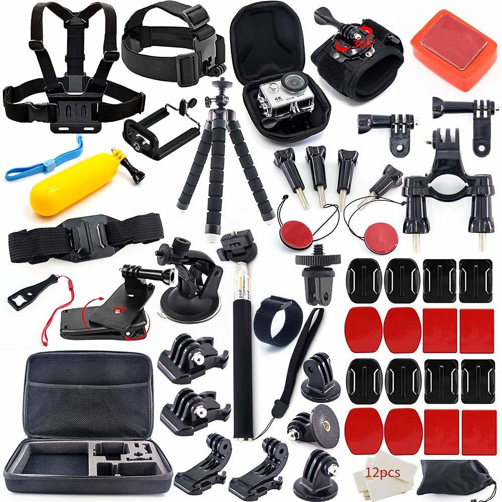 Prime Day Deals: MOUNTDOG 61-In-1 Action Camera Accessory Kit for Various Sports Activities for Only $16.79 + Free Shipping