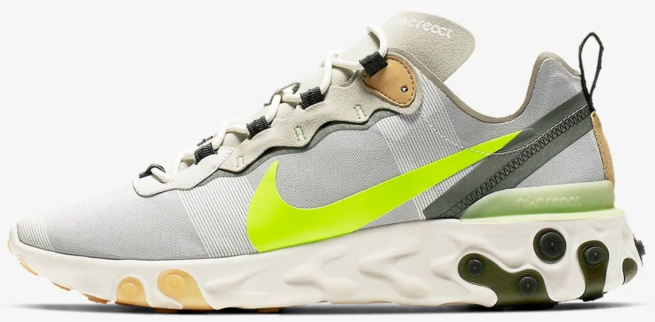 Men's Nike React Element 55 Shoes