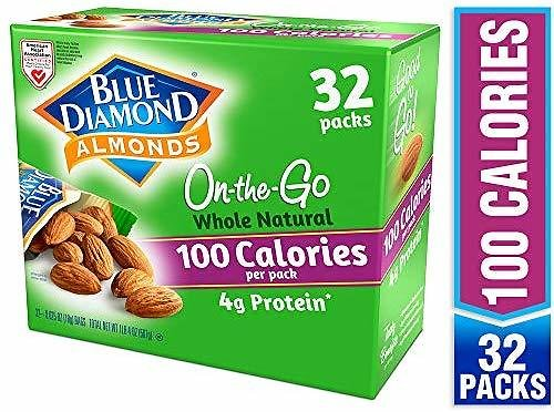 32CT Blue Diamond Almonds Whole Natural Raw Almonds