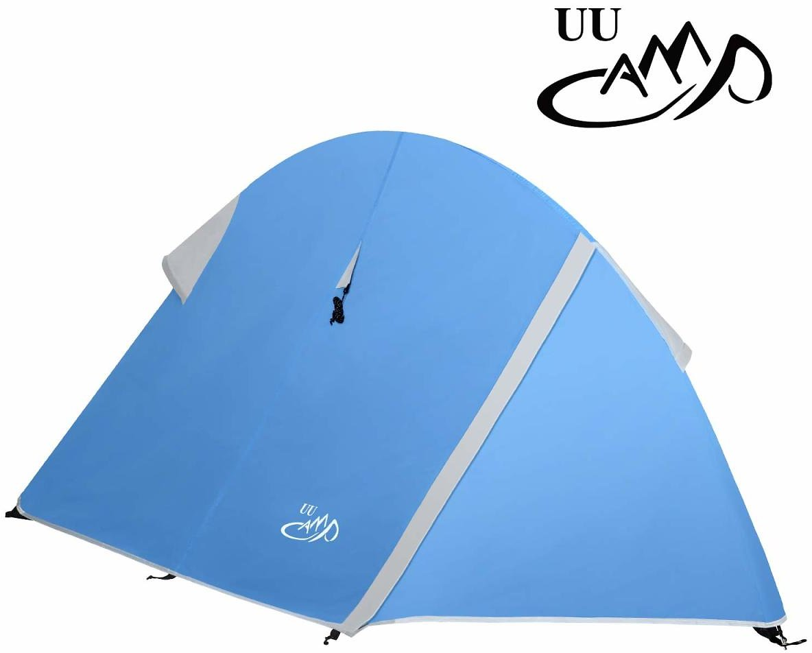 55% Off On UU CAMP 1 Pole Lightweight Backpacking Camping 2-Person Mesh Tent