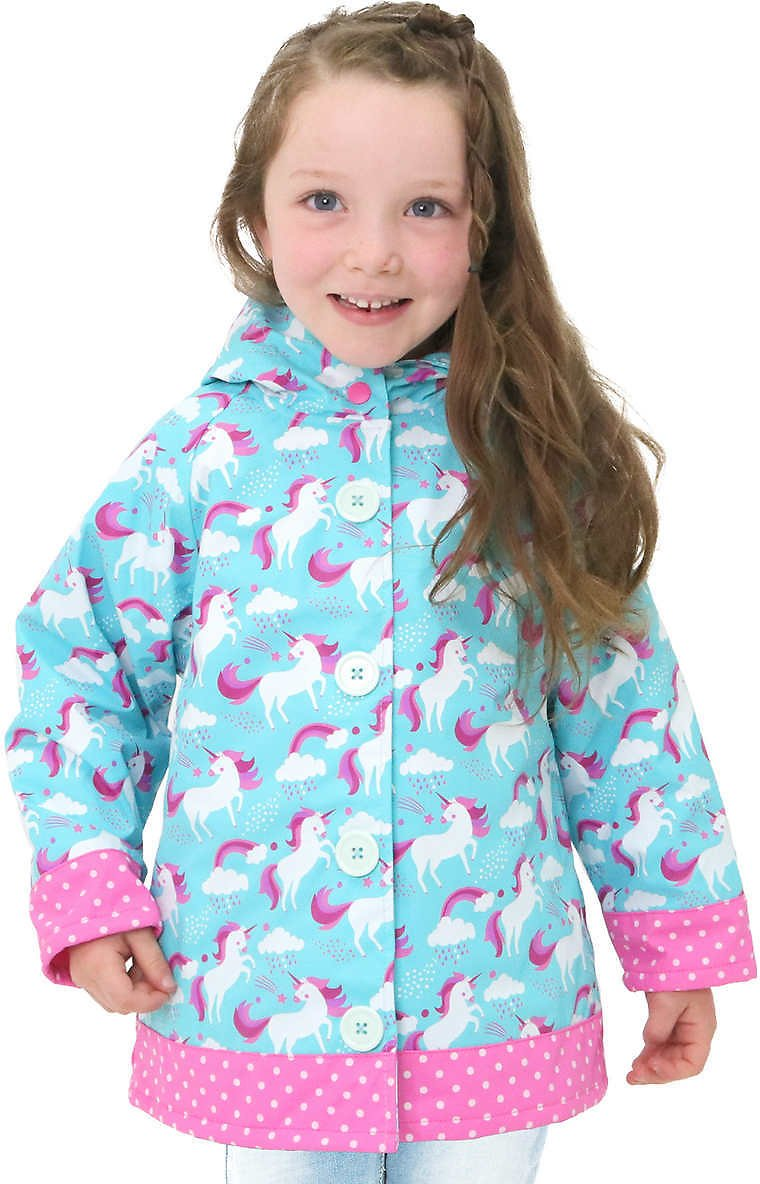 Western Chief Kids' Rain Coat, Unicorn
