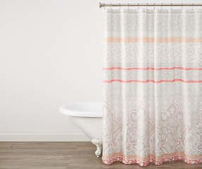 Living Colors Jessie Warmth of Spring Microfiber Shower Curtain - Big Lots