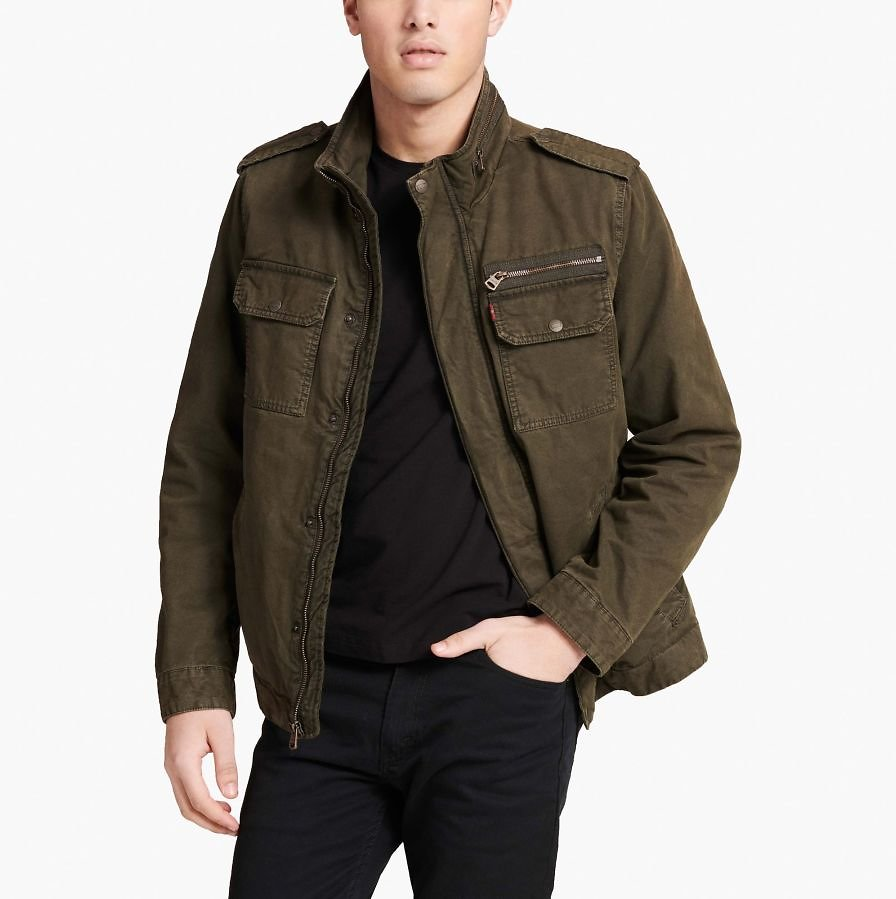 Now 58% Off - Levi's® Two Pocket Military Jacket